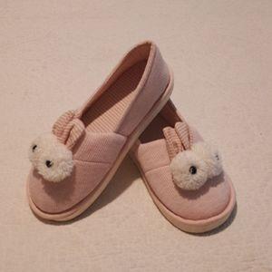 Big eyed bunny slippers